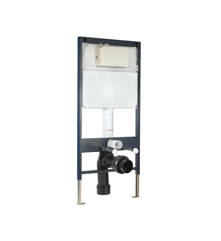 Pneumatic Single Piece Slim Concealed Cistern